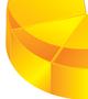 buy vector 3D pie chart icon illustration