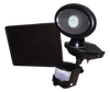 Solar-Powered Security Video Camera and Spotlight
