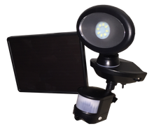 Solar Security Video Camera and Spotlight