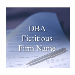 For Nevada Corporations or LLCs, the business' legal name is the one that was registered with the State government. All entities doing business in the state of Nevada under an assumed or fictitious name that is different from the legal business name must file a Fictitious Firm Name Certificate.