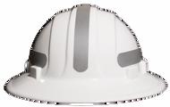 Omega II Full Brim Mohawk Hard Hat / Solid Silver