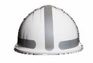 Liberty Mega Mohawk Hard Hat / Solid Silver
