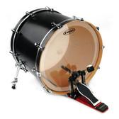 Evans EQ3 Clear Bass Drum Head, 18 Inch