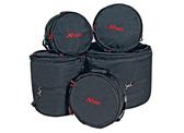 """Xtreme Rock/Fusion Bag Set - Comprises; 22"""",10',12',14',14' Snare."""