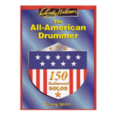 The All American Drummer: 150 Rudimental Solos - Charley Wilcoxon (Book Only)