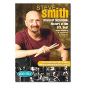 Steve Smith -Drum Set Technique/History of the US Beat  DOUBLE DVD
