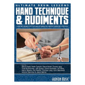 Ultimate Drum Lessons: Hand Technique & Rudiments DVD & eBOOK