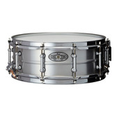 "Pearl 14 x 5"" Sensitone 'Beaded Seamless' Aluminium Snare Drum"