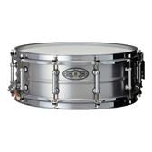 "Pearl 14 x 5"" Sensitone 'Beaded Seamless' Aluminium Snare Drum"