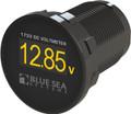 BlueSea - Mini DC Voltmeter, 8-36V DC - 1733