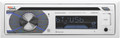 Boss - Single-Din CD Player Bluetooth White - MR508UABW