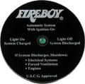 Fireboy - Fire System Status Indicator Panel - 90107