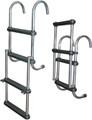 "JIF - SS Pontoon Ladder, 4-Step, 44.5"" - ASC4SS"