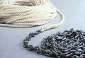"Powerwinchoration - Rode, 15'-1/4"" Chain & 300'-1/2"" Rope (P10295)"