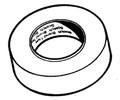 "Victory Marine/3m - Tape, Masking,  3/4""x 60yd (6334)"