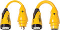 Actuant Electrical - 30A (125V) Locking w/Collar to 50A (125/250V) Locking (P504-30)