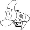 Rig Rite  - Transducer Bracket, F/Trolling Motor (300)