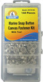 Handyman Marine  - Canvas Fasteners and Tool Kit, 144 pc. (970145)