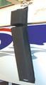 Kwik Tek - Hull Hugr, Contour Fender, Black (HH-30CB)