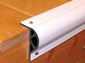"""Taylor Made - 3-1/8""""H x 2""""W x 10' Coil Retail, Small - White (46012)"""