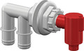 Flow-rite - Pump-Out/Aerator Combo, Barbed (MP-1000)