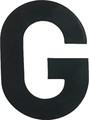 Hardline - Letter, A, Black (PKG 10) (17300)