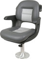 Tempress  - Elite Helm Seat Low Back, Charcoal/Gray (57027)