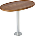 Garelick - Teak Oval Table Top w/Socket (75449-21)