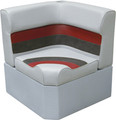 Wise - Corner Section, Light Grey/Charcoal/Red (8WD133-1012)