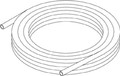 "Seastar / Hydraulics - 3/8"" Nylon Tubing, 50' (HT5095)"