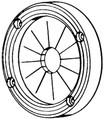 T-h Marine Supplies - Cable Grommet (UG-1-DP)