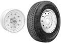 Americana Tire & Wheel - Mod Rim w/480X12 C, 5H ()