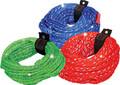 Kwik Tek - Bling Tow Rope, 4,100 lb., 4-Rider, Red (AHTR-14BL)