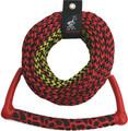 Kwik Tek - Radius Handle Ski Rope, 3-Section, 75' (AHSR-3)