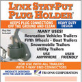 Tri-Lynx Stay Put Plug Holder 19-0134 8200B 55-8548