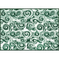 Camco RV Outdoor Mat, 8' x 16', Green Swirl 01-2950 42840 14-2840