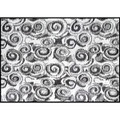 Camco RV Outdoor Mat, 8' x 16', Charcoal Swirl 01-2953 42843 14-2843