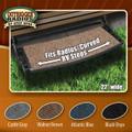 Prest-O-Fit Outrigger Radius Step Rug, Gray 04-0345 2-0373 14-9702