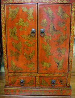 Tibetan Empress Butterfly Cabinet