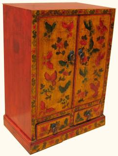 19 3/4 inch wide elmwood hall cabinet