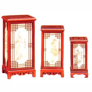 Flat top lantern