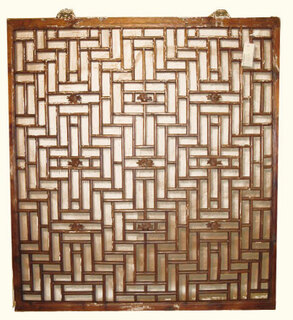 Antique Window, Chinese lattice design
