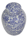 Oriental Blue and White Radish Jar