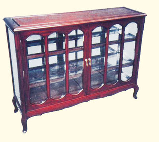 38 inch wide rosewood cabinet