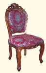 Franciscan side chair