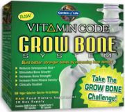 Grow Bone System Kit Vitamin Code 2 bottles