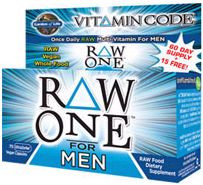 Multivitamin Mens RAW One Vitamin Code 75 Caps