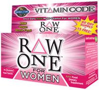 Multivitamin Women Raw One Vitamin Code 75 Caps