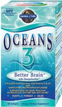Better Brain Oceans 3 90 Softgels
