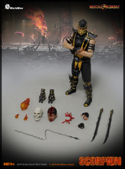 Worldbox 1/6 Mortal Kombat Scorpion action figure